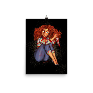 Chucky from the Childs Play - Merida, Maniac Princesses, Poster