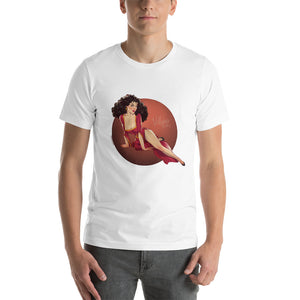 Mother Gothel, Disney Villains Pin-Up, Short-Sleeve Unisex T-Shirt
