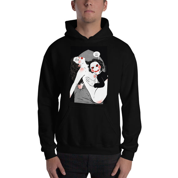 Saw, Erotic Gothic, Hooded Sweatshirt
