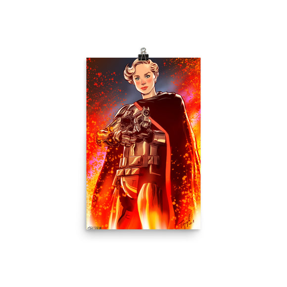 Captain Phasma, Imperial Girls, Poster