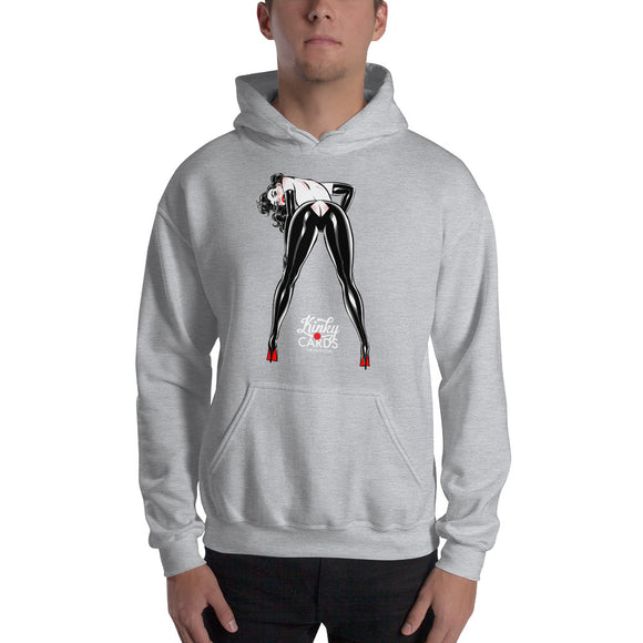 7 of diamonds, Kinky Cards, Hooded Sweatshirt