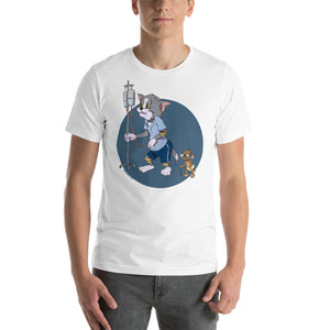 Tom & Jerry, Cartoons Got Old, Short-Sleeve Unisex T-Shirt