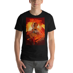 Volcano, Apocalypse Tomorrow, Short-Sleeve Unisex T-Shirt
