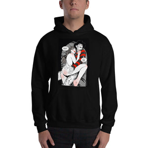 Freddy Kruger, Erotic Gothic, Hooded Sweatshirt
