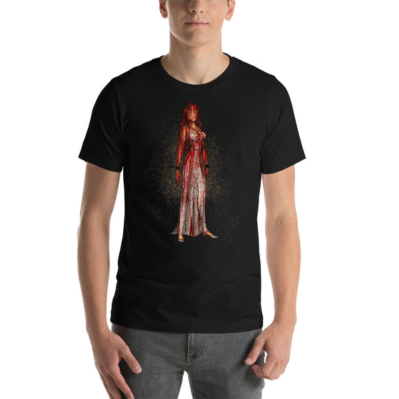 Carrie - Pocahontas, Maniac Princesses, Short-Sleeve Unisex T-Shirt