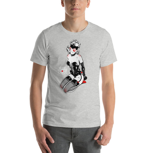 5 of hearts, Kinky Cards, Short-Sleeve Unisex T-Shirt