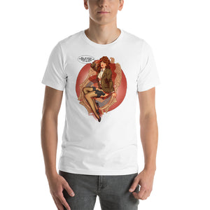 Denise Bryson, Twin Peaks Pin-Up, Short-Sleeve Unisex T-Shirt