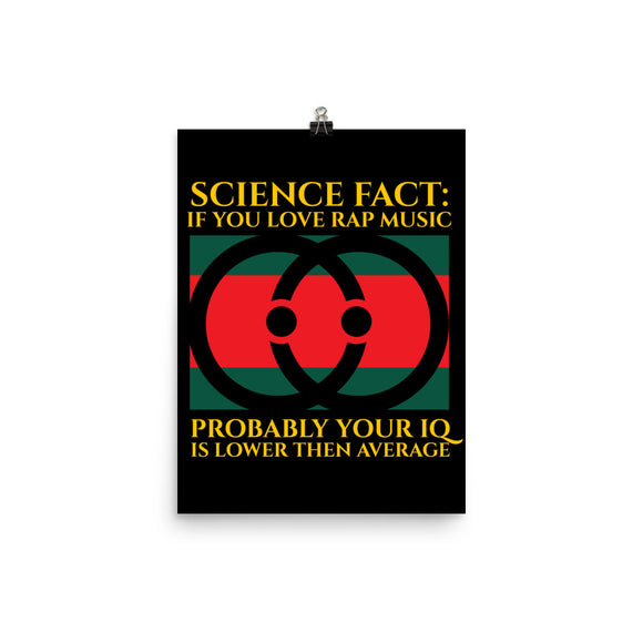 Science Fact - Gucci, Funny Texts, Poster