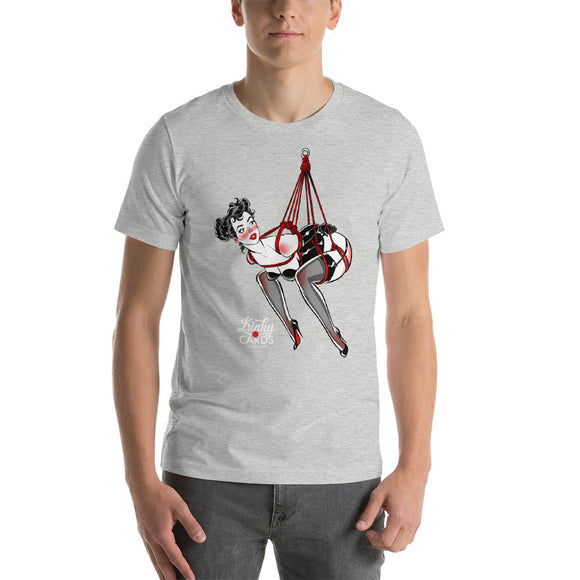 10 of clubs, Kinky Cards, Short-Sleeve Unisex T-Shirt