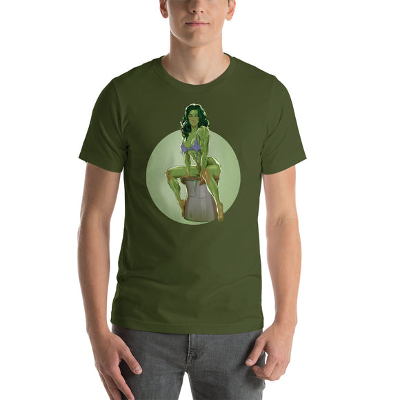 She-Hulk, Superheroes, Short-Sleeve Unisex T-Shirt