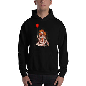 Pennywise from It - Ariel, Maniac Princesses, Hooded Sweatshirt