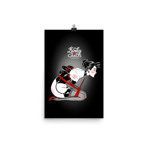 3 of clubs, Kinky Cards, Poster