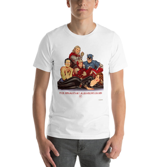 The Breakfast Avengers Club, Movie Posters, Short-Sleeve Unisex T-Shirt