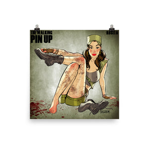 Rosita Espinosa, The Walking Dead Pin-Up, Poster