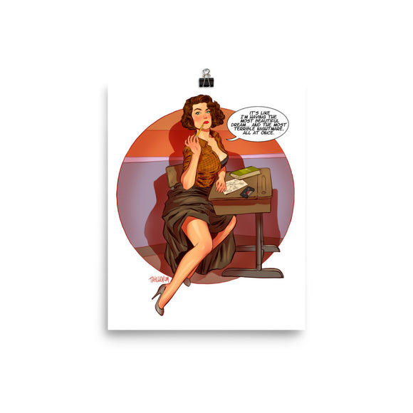 Donna Hayward, Twin Peaks Pin-Up, Poster