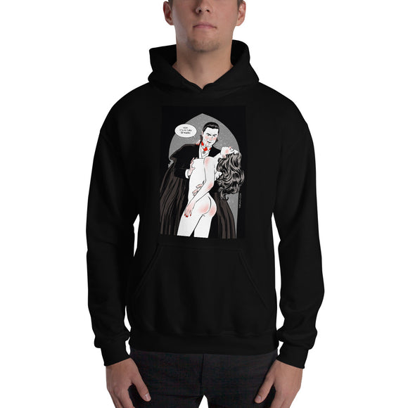 Dracula, Erotic Gothic, Hooded Sweatshirt