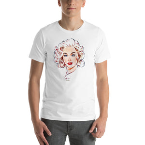 Mamie Van Doren, Hollywood Icons, Short-Sleeve Unisex T-Shirt