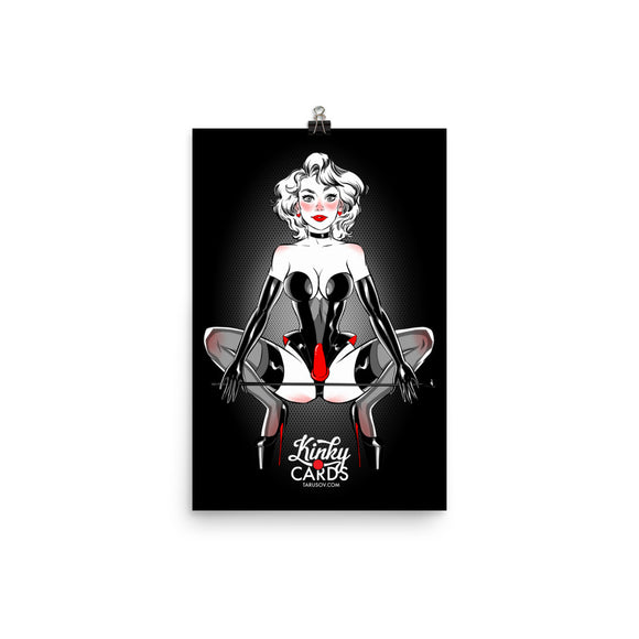 King of hearts, Kinky Cards, Poster