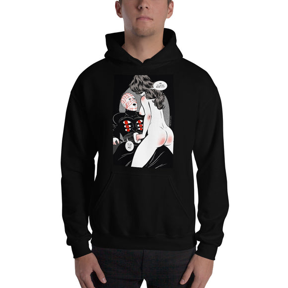 Hellraiser, Erotic Gothic, Hooded Sweatshirt