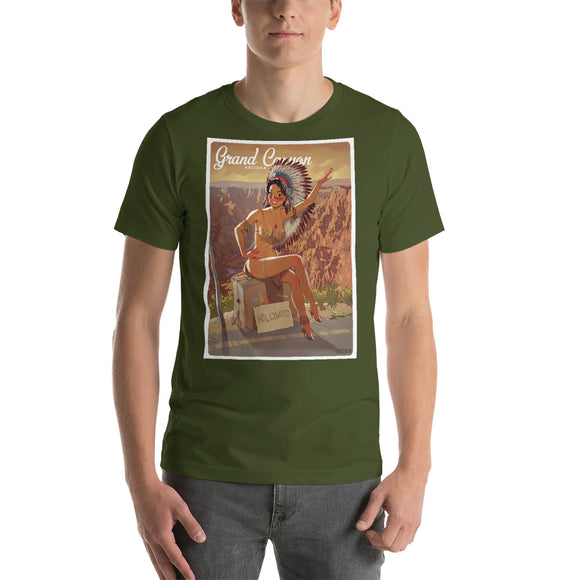 Grand Canyon, American Calendar, Short-Sleeve Unisex T-Shirt