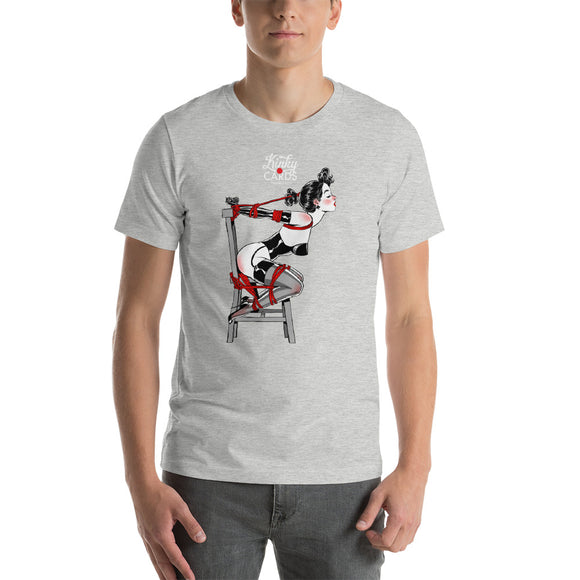 5 of clubs, Kinky Cards, Short-Sleeve Unisex T-Shirt