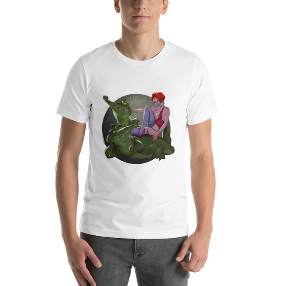 Madame Medusa, Disney Villains Pin-Up, Short-Sleeve Unisex T-Shirt