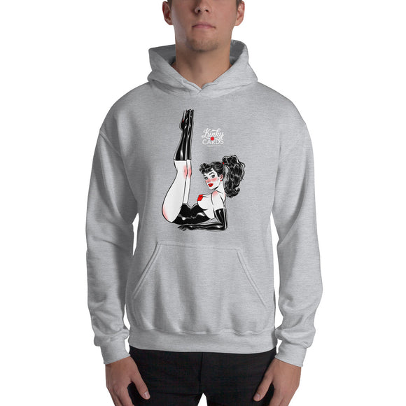 8 of diamonds, Kinky Cards, Hooded Sweatshirt