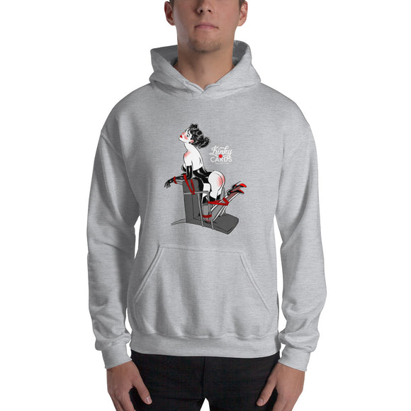 7 of clubs, Kinky Cards, Hooded Sweatshirt