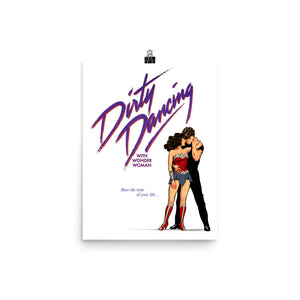 Dirty Dancing with Wonder Woman, Movie Posters, Poster