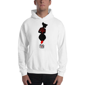 Ace of clubs (Silhouette), Kinky Cards, Hooded Sweatshirt