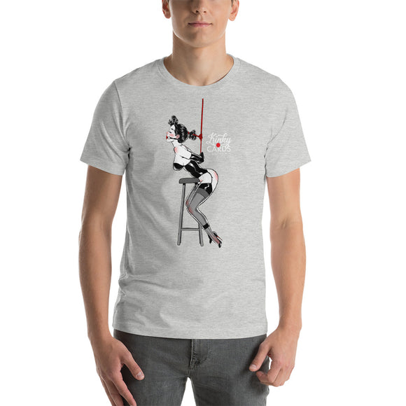 9 of clubs, Kinky Cards, Short-Sleeve Unisex T-Shirt
