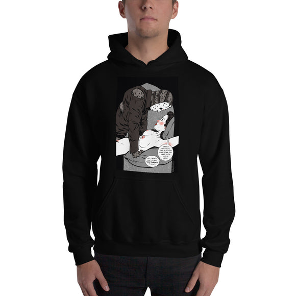Jason Voorhees, Erotic Gothic, Hooded Sweatshirt