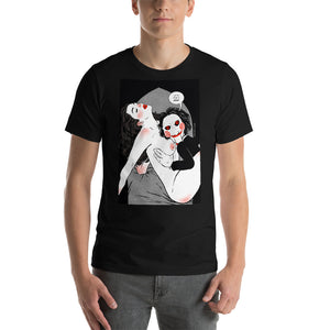 Saw, Erotic Gothic, Short-Sleeve Unisex T-Shirt