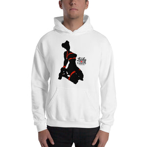 4 of clubs (Silhouette), Kinky Cards, Hooded Sweatshirt
