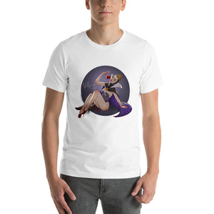 The Evil Queen, Disney Villains Pin-Up, Short-Sleeve Unisex T-Shirt