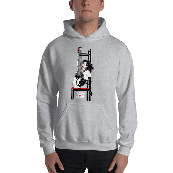 8 of spades, Kinky Cards, Hooded Sweatshirt