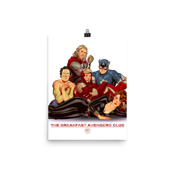 The Breakfast Avengers Club, Movie Posters, Poster