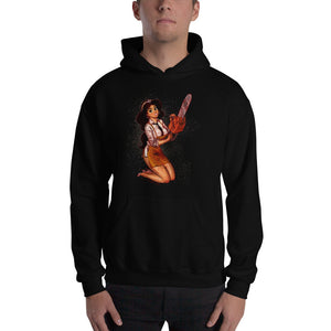 Leatherface from Texas Chainsaw Massacre - Jasmine, Maniac Princesses, Hooded Sweatshirt