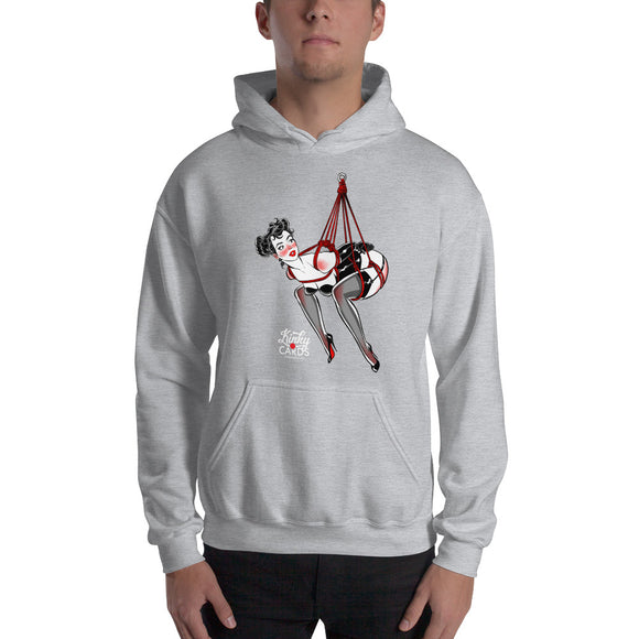 10 of clubs, Kinky Cards, Hooded Sweatshirt