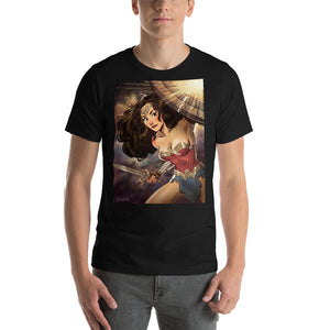 Wonder Woman Shield, Short-Sleeve Unisex T-Shirt
