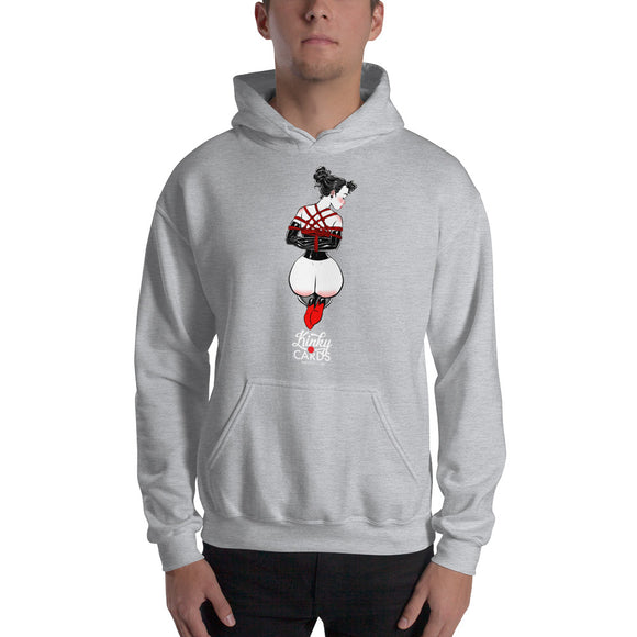Ace of clubs, Kinky Cards, Hooded Sweatshirt
