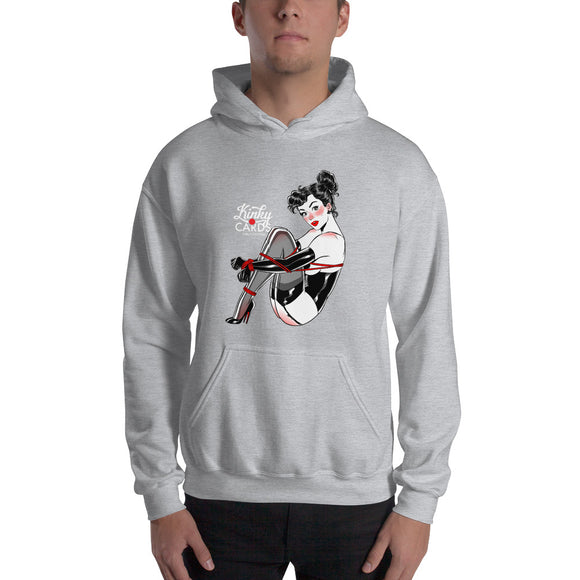 King of clubs, Kinky Cards, Hooded Sweatshirt