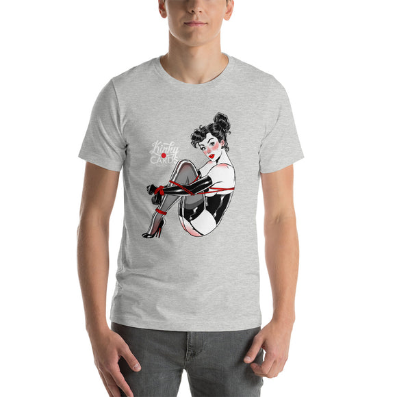 King of clubs, Kinky Cards, Short-Sleeve Unisex T-Shirt