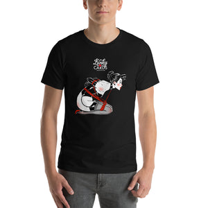 3 of clubs, Kinky Cards, Short-Sleeve Unisex T-Shirt