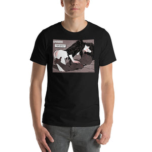 Jessica Jones & Luke Cage,  Erotic Superheroes, Short-Sleeve Unisex T-Shirt