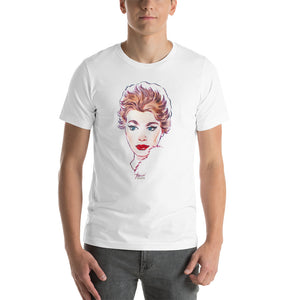 Sophia Loren, Hollywood Icons, Short-Sleeve Unisex T-Shirt