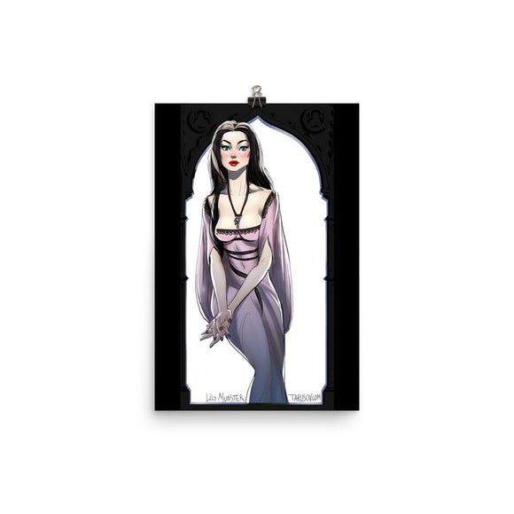 Lily Munster, Halloween Girls Pin-Up, Poster