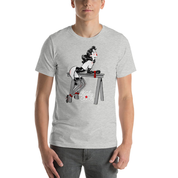Jack of spades, Kinky Cards, Short-Sleeve Unisex T-Shirt