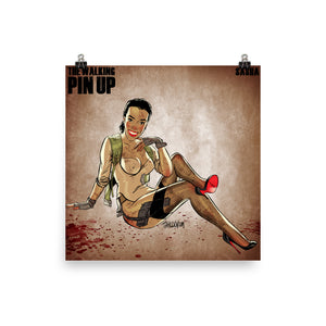 Sasha Williams, The Walking Dead Pin-Up, Poster