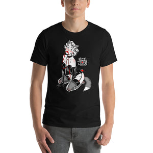 10 of hearts, Kinky Cards, Short-Sleeve Unisex T-Shirt
